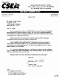 Letter from CSEA May 7 2015